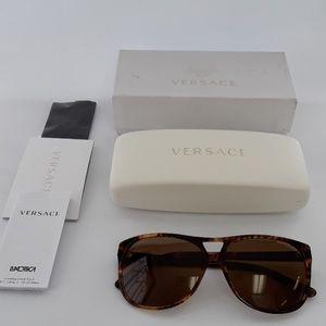 NIB Versace MOD 4217 954-83 Polarized Sunglasses